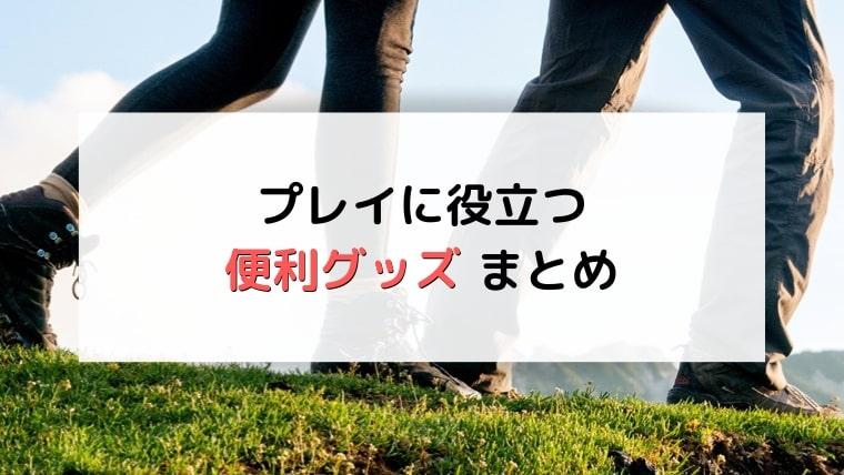 【ポケモンGO】便利グッズのまとめ